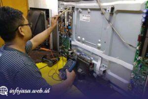 Jasa Service Televisi Murah di Blambangan Umpu