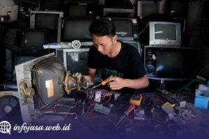 Jasa Service TV Murah di Raya