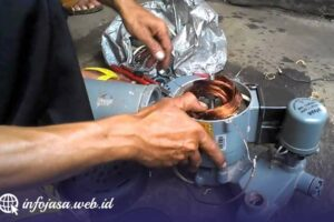Jasa Service Pompa Air di Kumurkek