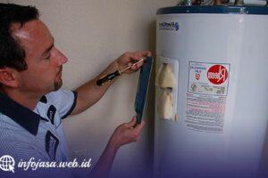 Jasa Service Water Heater di Tideng Pale