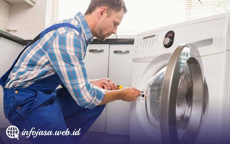 Jasa Service Mesin Cuci di Tambrauw